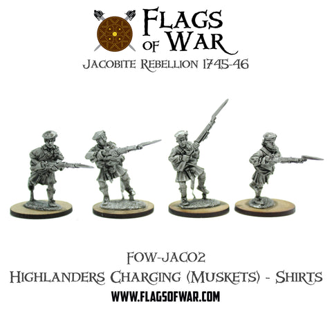 FOW-JAC02 Highlanders Charging (Muskets) - Shirts