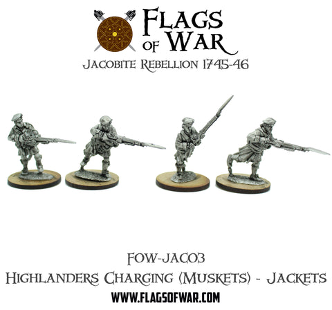 FOW-JAC03 Highlanders Charging (Muskets) - Jackets