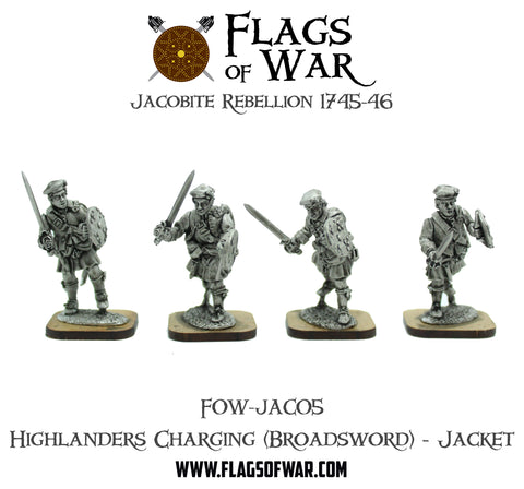 FOW-JAC05 Highlanders Charging (Broadsword) - Jacket