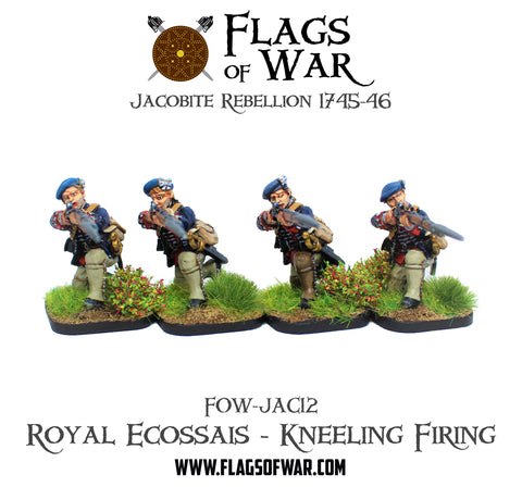 FOW-JAC12 Royal Ecossais - Kneeling Firing