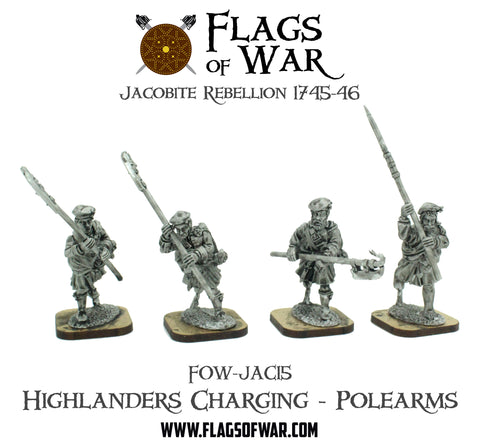 FOW-JAC15 Highlanders Charging - Polearms