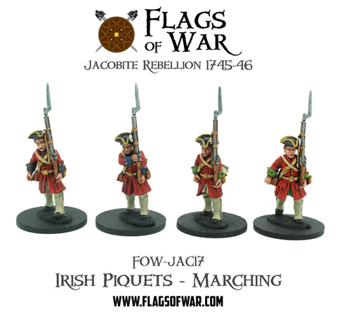 FOW-JAC17 Irish Piquets - Marching  (Pre-Order)