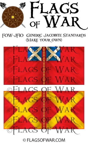 FOW-JF10 Generic Jacobite Standards 1 (Make your own)