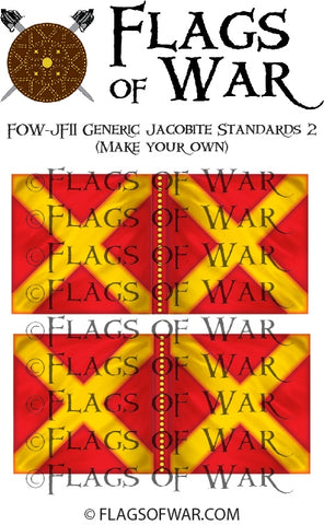 FOW-JF11 Generic Jacobite Standards 2 (Make your own)