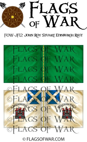 FOW-JF12 John Roy Stuart Edinburgh Regiment