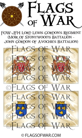FOW-JF14 Lord Lewis Gordon's Regiment