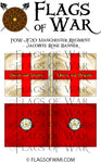FOW-JF20 Manchester Regiment - Jacobite Rose Banner