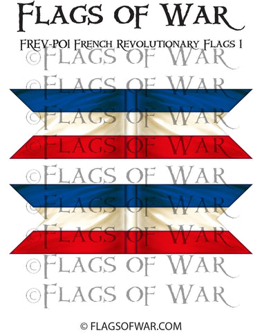 FREV-P01 French Revolutionary Flags 1