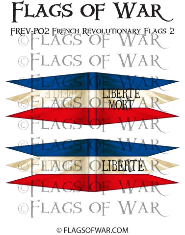 FREV-P02 French Revolutionary Flags 2