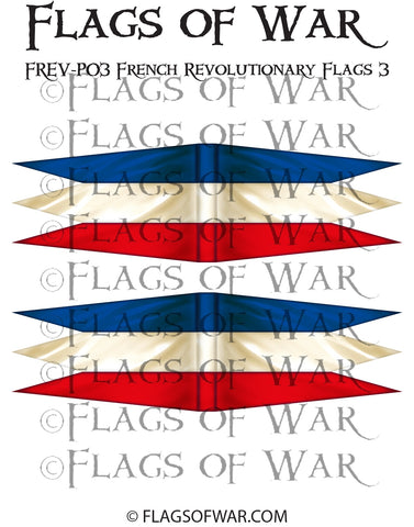 FREV-P03 French Revolutionary Flags 3