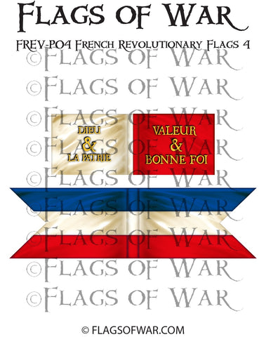 FREV-P04 French Revolutionary Flags 4