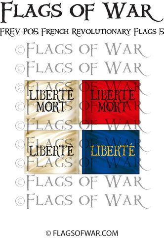 FREV-P05 French Revolutionary Flags 5