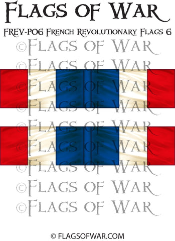 FREV-P06 French Revolutionary Flags 6