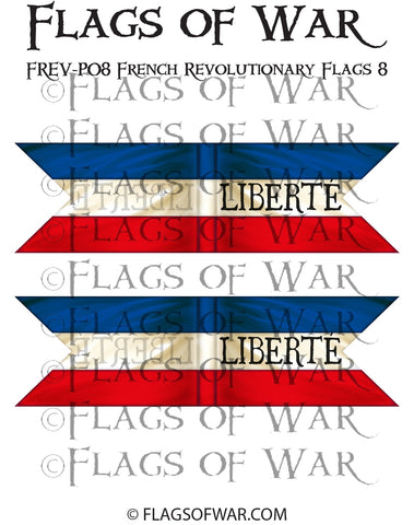 FREV-P08 French Revolutionary Flags 8