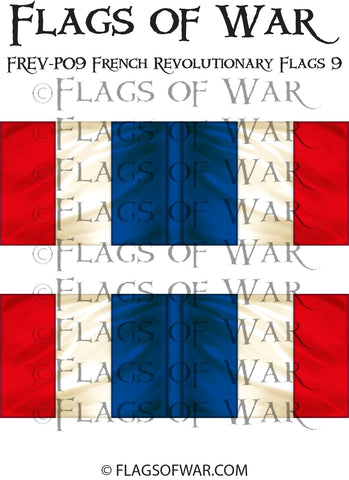FREV-P09 French Revolutionary Flags 9