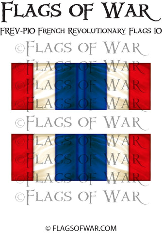 FREV-P10 French Revolutionary Flags 10