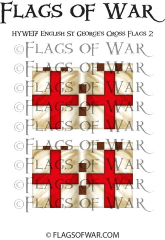 HYWE17 English St George's Cross Flags 2