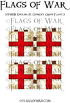 HYWE18 English St George's Cross Flags 3
