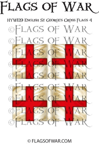 HYWE19 English St George's Cross Flags 4