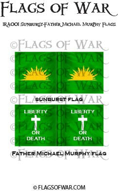 IRA001 Sunburst-Father Michael Murphy Flags