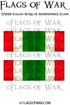 ITWI01 Italian Wars of Independence Flags