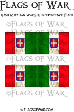 ITWI02 Italian Wars of Independence Flags