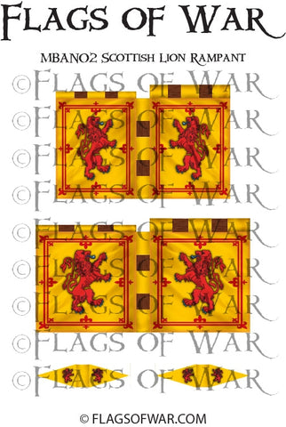 MBAN02 Scottish Lion Rampant