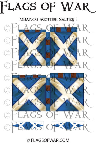 MBAN03 Scottish Saltire 1