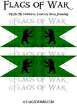 MFAN-T15 Medieval Fantasy Bear Banners