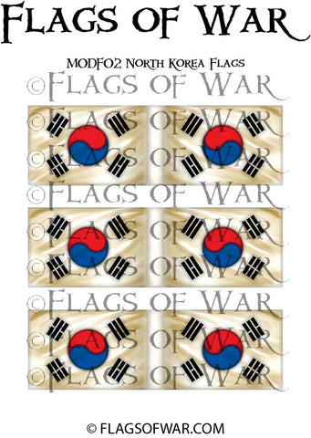 MODF02 South Korea Flags