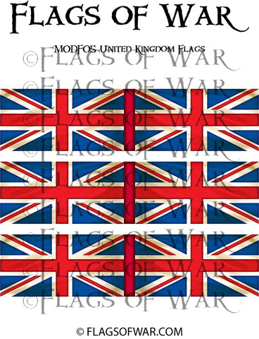 MODF05 United Kingdom Flags