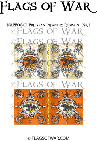 NAPP06-01 Prussian Infantry Regiment Nr. 1