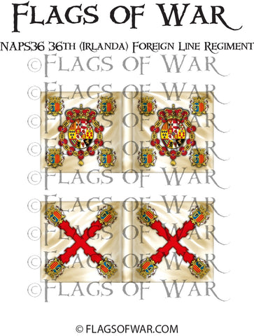 NAPS36 36th (Irlanda) Foreign Line Regiment