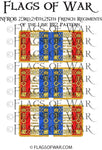 NFR08 23rd,24th,25th French Regiments Line 1812 Pattern