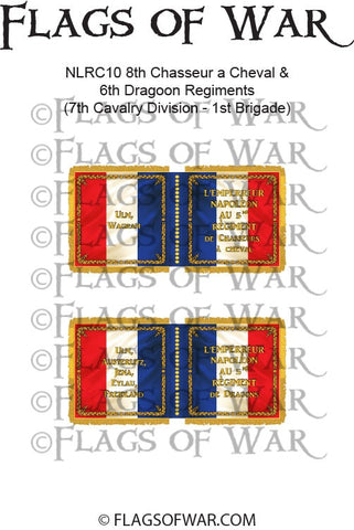 NLRC10 8th Chasseur a Cheval & 6th Dragoon Regiments (7th Cavalry Division - 1st Brigade)