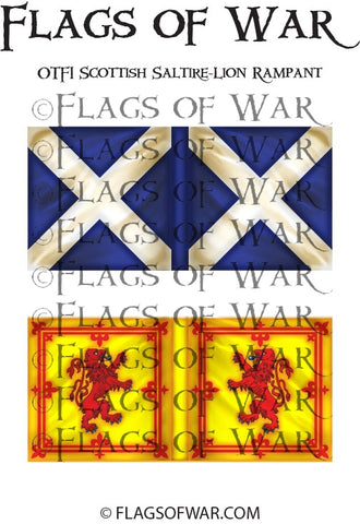 OTF01 Scottish Saltire-Lion Rampant