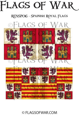 RENSP06 - Spanish Royal Flags