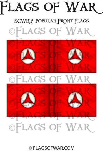 SCWR17 Popular Front Flags