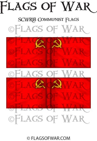 SCWR18 Communist Flags