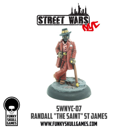 "SWNYC-M07 28mm Randall ""The Saint"" St James Miniature"