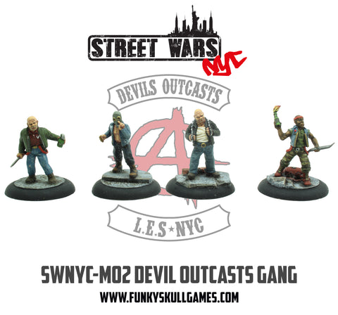 SWNYC-M02 Devil Outcasts Gang