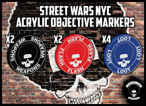 SWNYC-A01 Street Wars NYC Acrylic Objectives