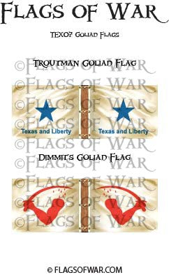 TEX07 Goliad Flags
