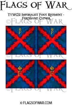 TYWC51 Imperialist Foot Regiment - Ferdinand Cypher (Make your own)