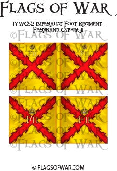 TYWC52 Imperialist Foot Regiment - Ferdinand II Cypher (Make your own)