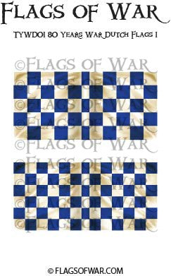 TYWD01 80 Years War Dutch Flags 1