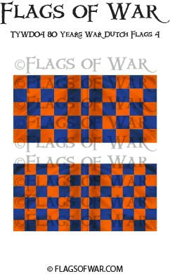TYWD04 80 Years War Dutch Flags 4