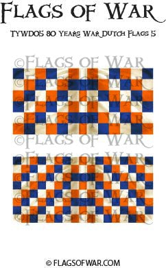TYWD05 80 Years War Dutch Flags 5
