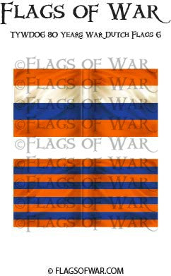 TYWD06 80 Years War Dutch Flags 6