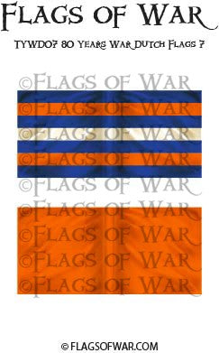 TYWD07 80 Years War Dutch Flags 7
